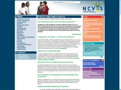 NCVYS website